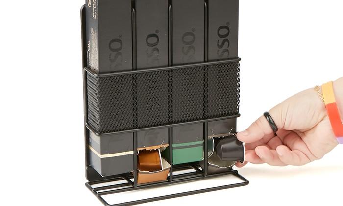 Mind Reader Nespresso Coffee Pod Storage, Holds 4 Nespresso Boxes, ...