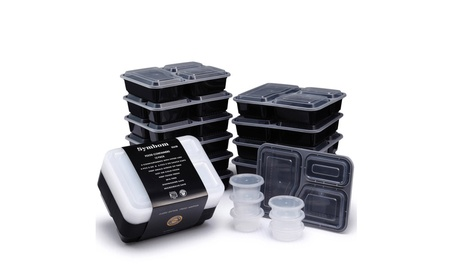 12 Packs Lunch Boxes, Meal Prep Containers, Condiment Cups 1e27828a-1392-4408-abcc-8b9b390ce59e