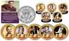 Elvis Presley Life and Times JFK Half Dollar Set (5-Piece)