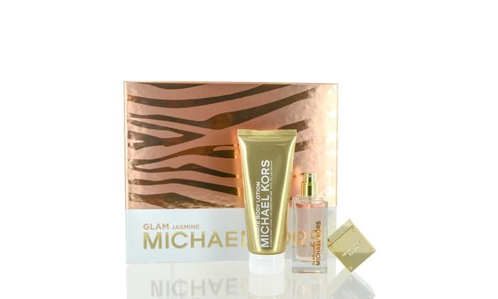 1186e3ffbd67 Michael Kors Glam Jasmine Body Lotion and Eau de Parfum Set for Women