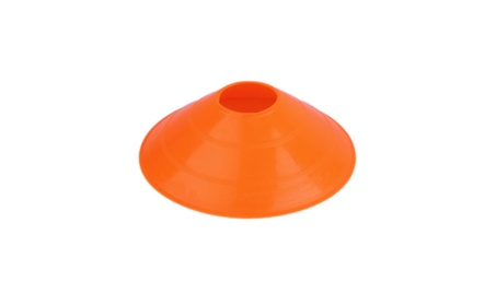 Sports Safety Soccer Football Training Track 25 Orange Speed Disc Cone 93c9324d-15a8-4483-a87b-55073c7a4660