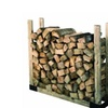 HY-C SLRK Heavy Duty Steel Adjustable Fire Wood Log Rack Bracket Kit