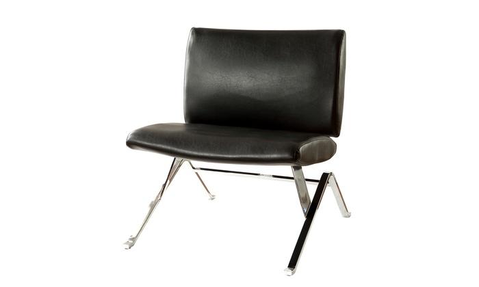Super Daniele Modern Faux Leather Accent Chair Creativecarmelina Interior Chair Design Creativecarmelinacom