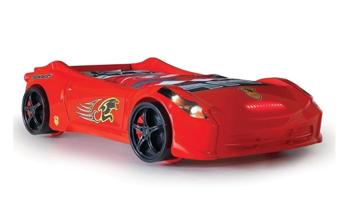 Childrens Ferrari 458 Italia Style Spider Racing Car Bed