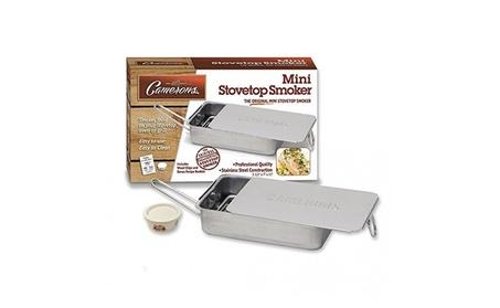 Stovetop Smoker - The Original Camerons Gourmet Mini Stainless Steel b7b64101-82df-420e-8839-2bcfed646e21