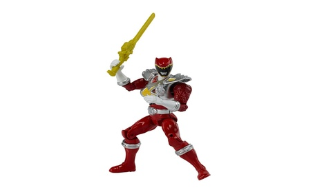 "Power Rangers Dino Charge - 5"" Dino Drive Red Ranger Action Figure 8bc287f3-dac1-4a7a-9c39-e923eeb54f5a"