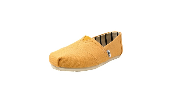 ce4ff65ca7f Toms Women s Classic Heritage Canvas Orange Shoes