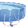 "Steel Pro 12' x 30"" Above Ground Pool Set with Filter Pump"