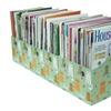 Evelots Lot of 6 Cat Design Magazine/File Holders Bins Folders
