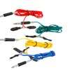 New 5 Color Tattoo Supplies 1.7M 6 Feet Soft Silicone Wire Power Clip