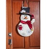 Winter/Holiday Burlap Door Decor