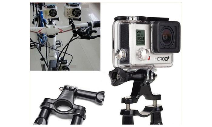 Action Camera Seat Post/Handlebar Mount GoPro, Xiaomi, SJ4000/5000
