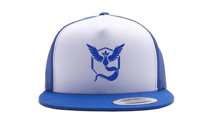 3cd9cf34 Pokemon Go Hat Team Valor Mystic instinct Trucker Hat Snap Bac | Groupon