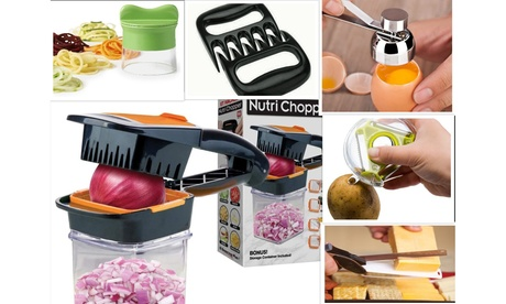 7 Piece Set: Kitchen Gadgets Combo Deal