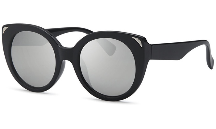 AFONiE Dive Cat Eyes Thick Frame Sunglasses for women - 4Pack | Groupon