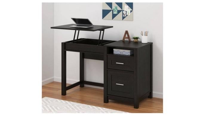 lift top desk. Espresso Better Homes And Gardens Lift Top Desk, Desk K