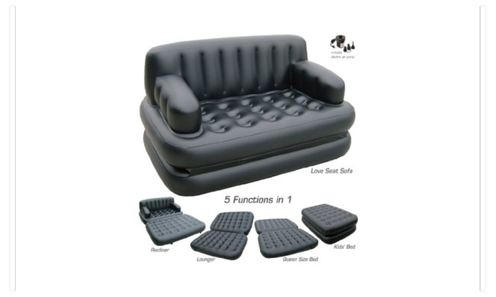 Air O Space 5 In 1 Sofa Bed Groupon