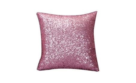 Solid Color Glitter Sequins Cushion Home Decor Cushion Case 314473e6-6f7c-40b5-a517-d3b79164b030