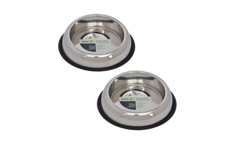 Iconic Pet 51442 16 oz. Heavy Weight Non-Skid Easy Feed High Back Pet 7d8b491f-256d-4d58-bad2-5b8f584db116