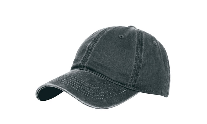 Classic Unisex Baseball Cap Adjustable Washed Dyed Cotton Ball Hat