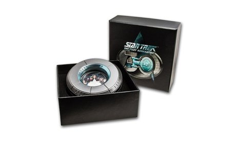2017 2 oz Silver Star Trek: The Next Generation Crew dd54c43b-ea11-4966-a267-3c5da472c02d