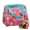Fit & Fresh Kids Riley Insulated Lunch Bag, Rainbow Owls