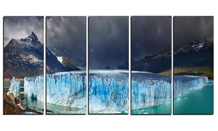 Perito Moreno Glacier - Photography Glossy Metal Wall Art | Groupon