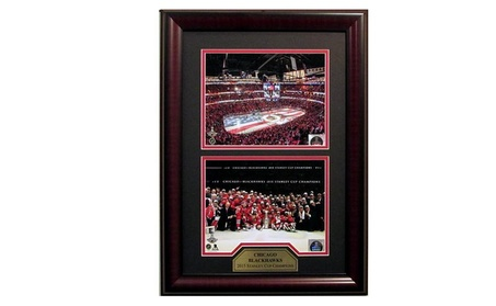 Chicago Blackhawks 2015 Stanley Cup Champions 2-Way 8x10 Framed 5b9dcd1b-e791-49a7-9fd2-daa0d10dc5be