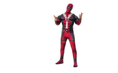 Deadpool Movie Deluxe Men's Adult Halloween Costume f3675b22-f618-4206-96b0-02aaac5eb28b