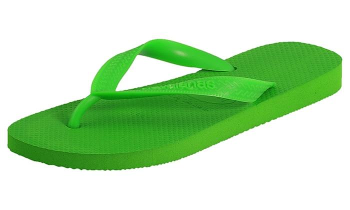 Havaianas Unisex Top Solid Color Flip Flops