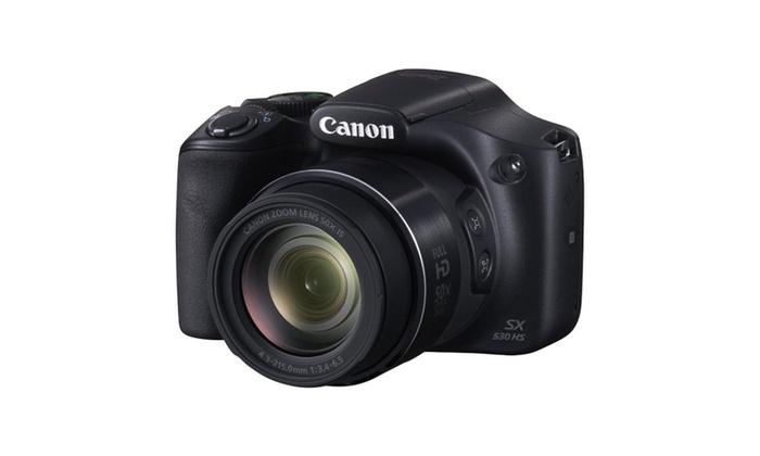 Canon PowerShot SX530 HS 16.0 MP 50x Opt Zoom 1080p HD Digital Camera
