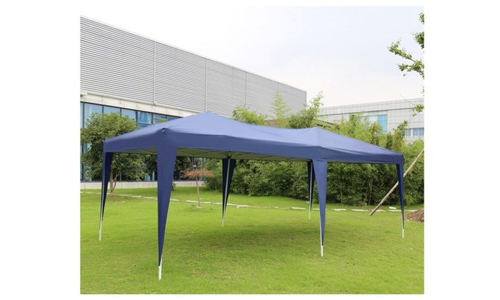 New Blue 10u0027x20u0027 Canopy Wedding Party Tent Heavy Duty Outdoor Gazebo  sc 1 st  Groupon & New Blue 10u0027x20u0027 Canopy Wedding Party Tent Heavy Duty Outdoor ...