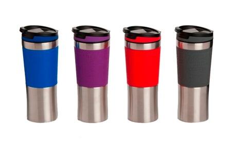 Double Walled Coffee Tumbler w/ Silicone Grip 6f53554d-c2d7-45c2-b98f-5fe0baf77792