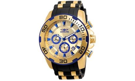 Invicta Pro Diver Men's Silicone/SS Watch 3c7ab3c7-25f8-496a-a8b2-9f7e377076d8