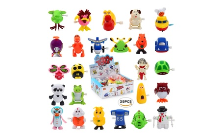 Wind up Toys 25 pcs Assorted Toy Animal for Children's Party Gifts ac97bcb8-5698-4313-abff-e7b6ed47ff34