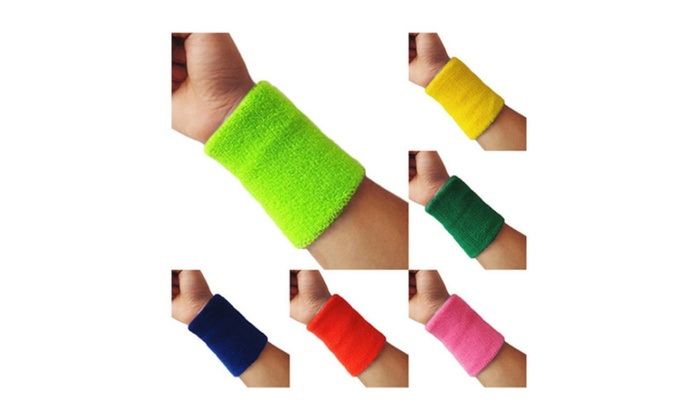 Super Sports Wrist Sweatband Tennis Squash Badminton GYM