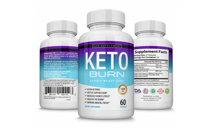 Lux Supplement Keto Burn Pills Ketosis Weight Loss 1200 Mg