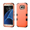 Insten Tuff Hybrid Hard Case For Samsung Galaxy S7 Edge Orange/black