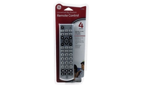GE 6166896 4 Device Universal Big Button Remote Control photo