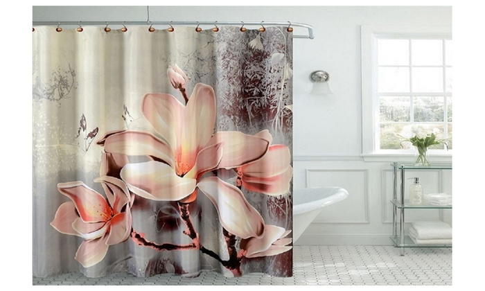 Fancy Lily Shower Curtain