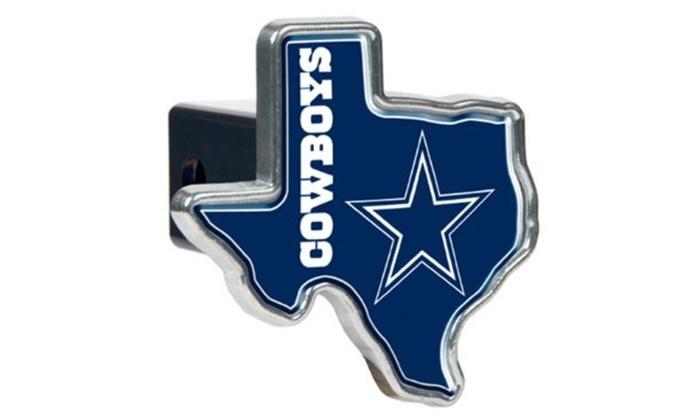 Dallas Cowboys Texas Shaped Trailer Hitch cover