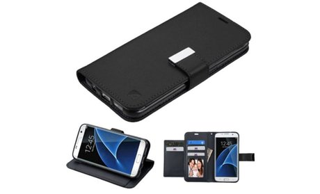 Insten Folio Leather Fabric Case with Photo Display For Samsung...