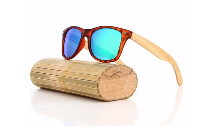 Wooden Sunglasses River Series Men Women Wood Sunglasses in Bamboo Box