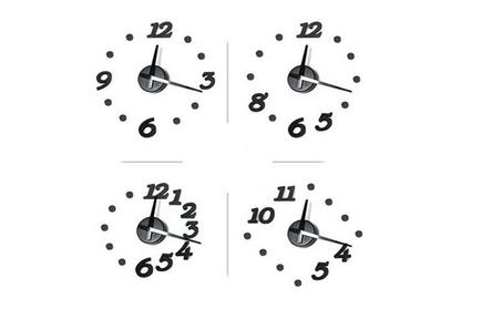 DIY Wall Clock Pastoral Deer Home Decoration Art Clock 293ff726-042f-49ec-950e-5d57315ca31c