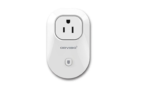 Orvibo Wifi Smart Socket Outlet US Plug, Remote Control, Timing photo