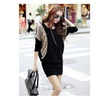 Women's Long Sleeve Pullover Knitted Sweater