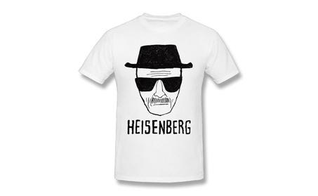Breaking Bad Heisenberg Short Sketch White Men Tee 557a47d9-c648-4d86-8387-7f6a50f20bc6