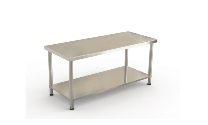 24 X72 Stainless Steel Kitchen Work Prep Table Duty Commercial