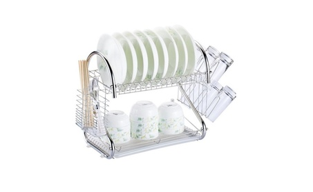 Kitchen Dish Cup Drying Drainer Dryer Tray Cutlery Holder Organizer 1ac821eb-d0a7-4081-baed-3847696b11b5