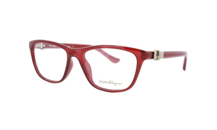 Up To 77% Off on Salvatore Ferragamo Eyeglasse... | Groupon Goods